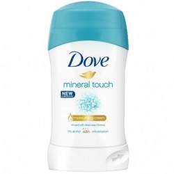 Dove - Mineral Touch Déodorant stick - 40ml