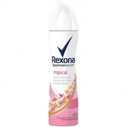 Rexona - Déodorant Spray anti-transpirant 48h Tropical - 200ml