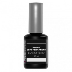 Folie Cosmetic - Vernis Semi-permanent- Blanc French - 15 ml