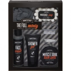 Man'Stuff - Coffret Homme The Full Monty - 7pcs