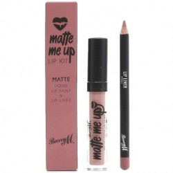 Barry M - Matte Me Up Kit Lèvres - Hun