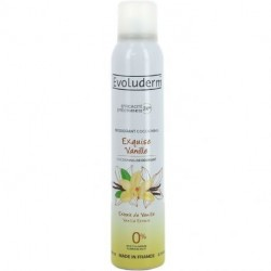 Evoluderm - Déodorant Cocooning Exquise Vanille - 200ml