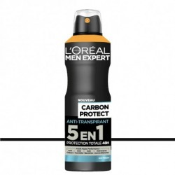 L'Oréal Men Expert - Déodorant Spray Carbon Protect 5 en 1 - 200ml