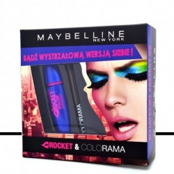 Gemey Maybelline - ROCKET & COLORAMA Crayon Khol et Mascara - 10 ml + 5g