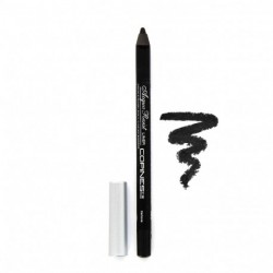 Copines Line - Crayon Acqua Resist Liner - Yeux Waterproof - 01 Carbone