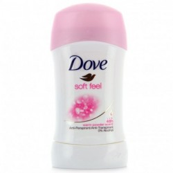 Dove - Soft Feel Déodorant stick Anti-transpirant 48h - 40ml